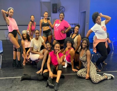 DISTINCT APPAREL SUPPORTS DANCE 101 FOR BREAST CANCER FUNDRAISER