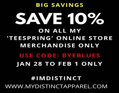 Online Store TEESPRING BIG 10% Off Deal for Distinct Apparel