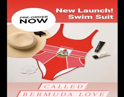 1st Distinct Apparel Swimsuit Launched: Bermuda LOVE