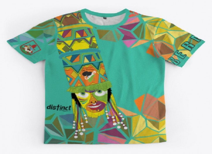 BERMUDA GOMBEY AYO! ALL-OVER PRINT UNISEX TEE