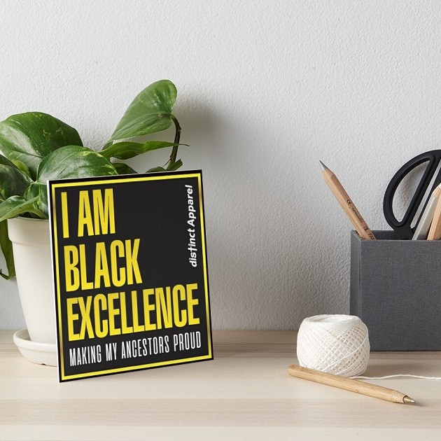 I AM BLACK EXCELLENCE - HOUSEHOLD, KITCHEN & DECOR