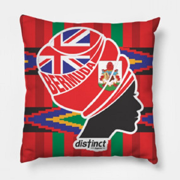 BERMUDA DISTINCT AFRICAN PRINT (PILLOW)