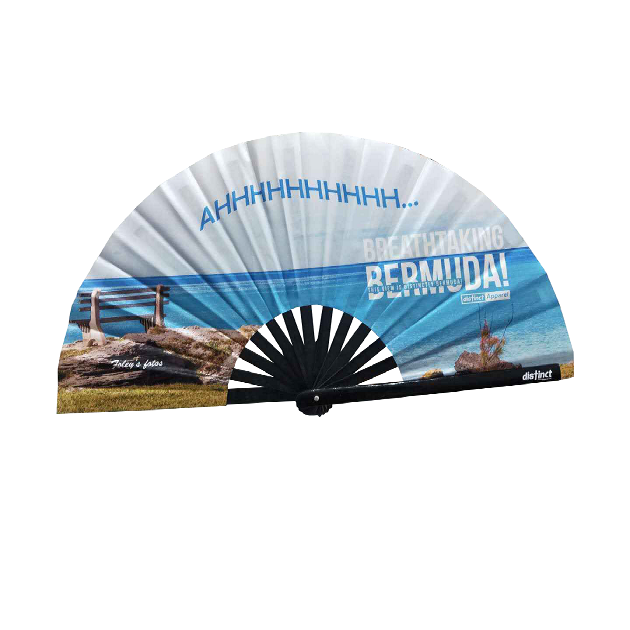 BREATHTAKING BERMUDA  - FOLDABLE FANS