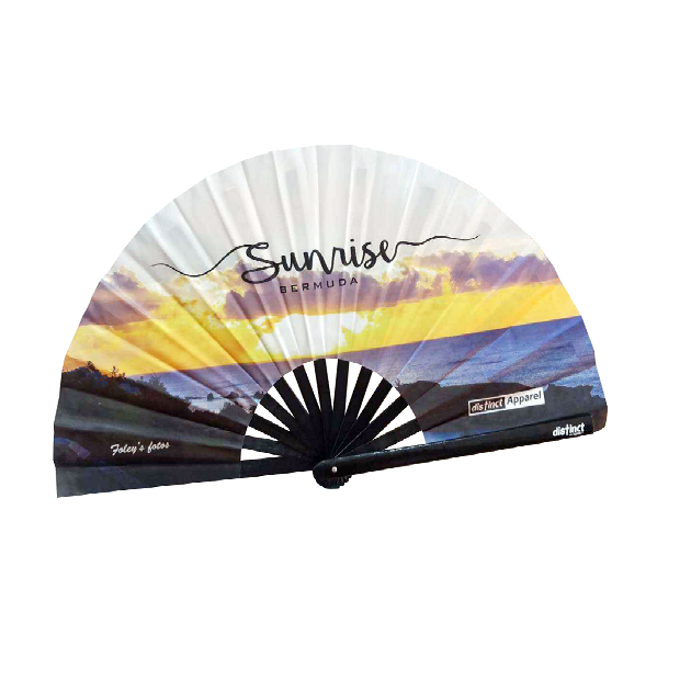 BERMUDA SUNRISE  - FOLDABLE FANS