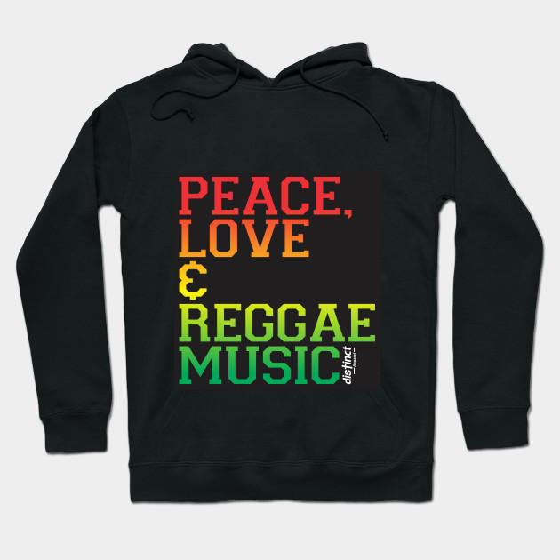 PEACE, LOVE & REGGAE MUSIC - CLOTHING