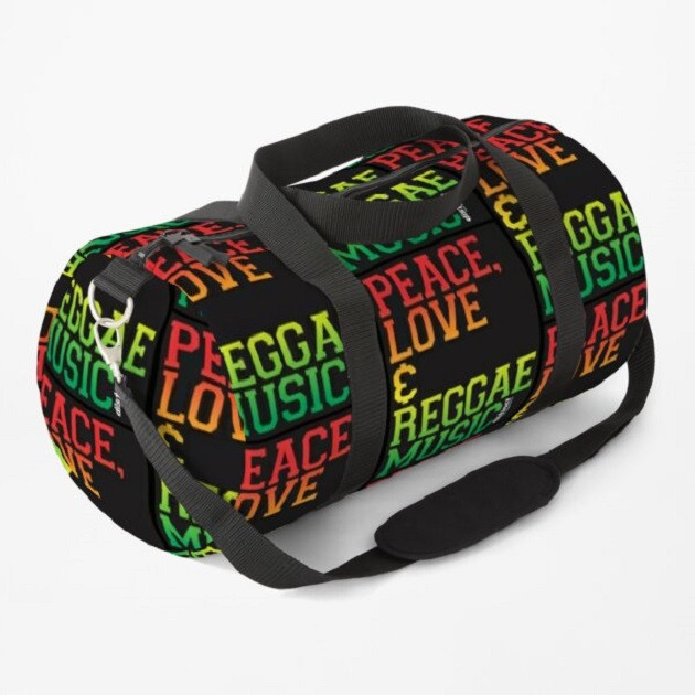 PEACE, LOVE & REGGAE MUSIC - BAGS