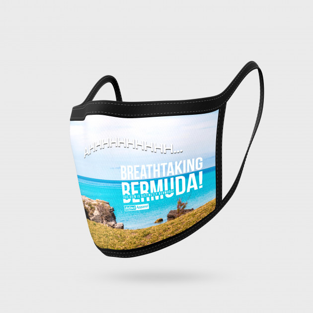 BREATHTAKING BERMUDA  - FACE MASKS