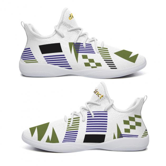 Bermuda African print -   (CCs) Custom Comfort-City Sneakers