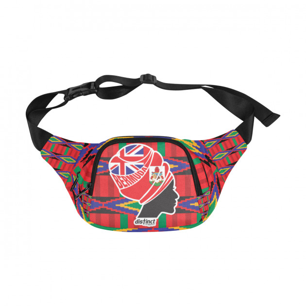 BERMUDA NUBIAN QUEEN - Money Bag/Pouch/Fanny Pack/Waiste Bags