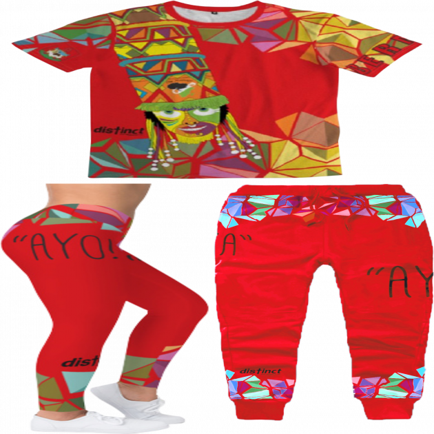 BERMUDA GOMBEY AYO!  - Joggers & Leggings Sets (shirt and bottoms)