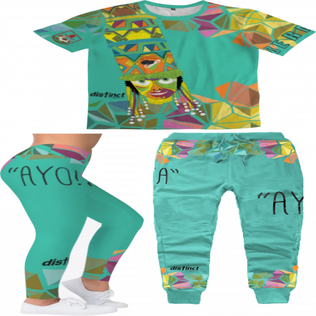BERMUDA GOMBEY AYO!  - Joggers & Leggings Sets (shirt and bottoms) -