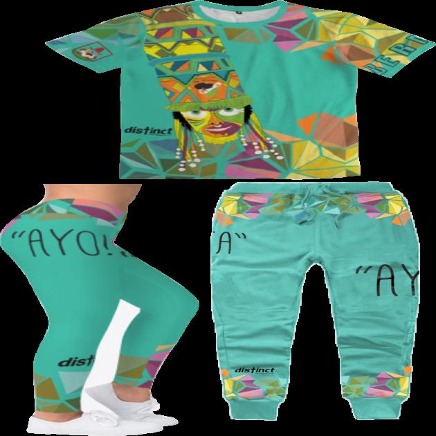 BERMUDA GOMBEY AYO!  - Joggers & Leggings Sets (shirt and bottoms) -