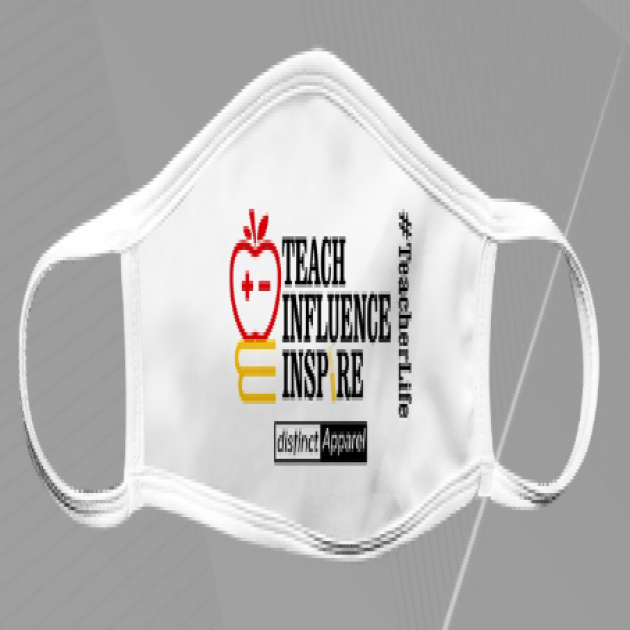 Teach Influence Inspire - Mask