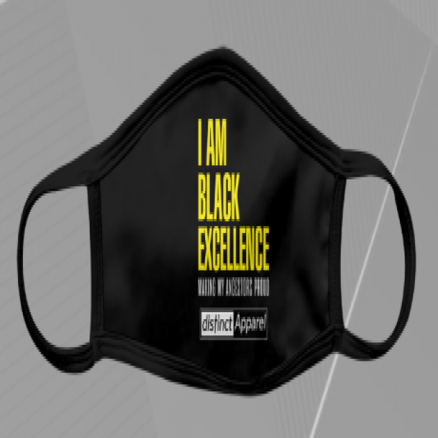 I AM BLACK EXCELLENCE - Masks