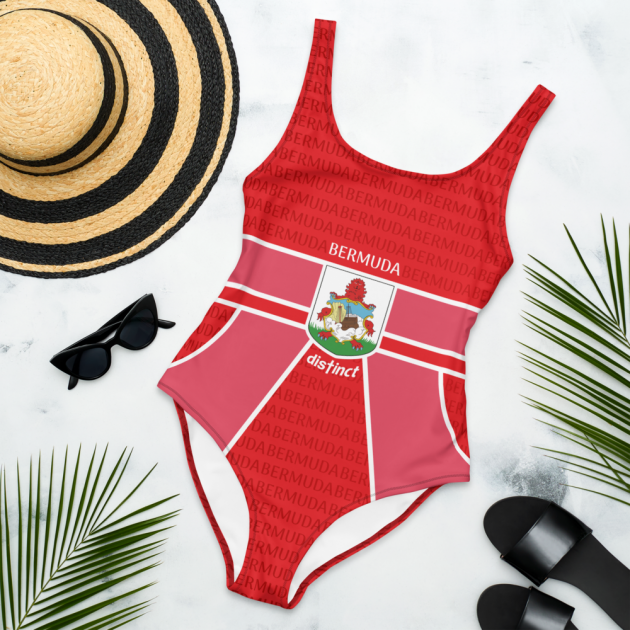 Bermuda LOVE - Women's One Piece Swimwear (CUSTOM PRE-ORDER ONLY)