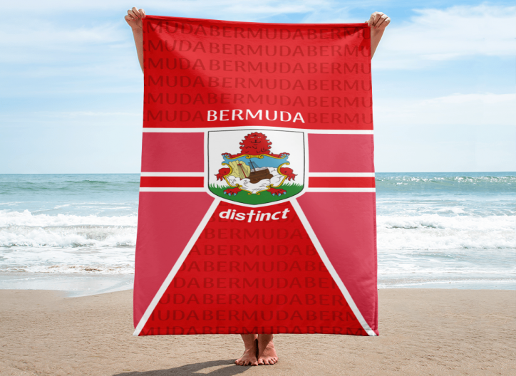Bermuda LOVE - Beach Towel  (CUSTOM PRE-ORDER ONLY)
