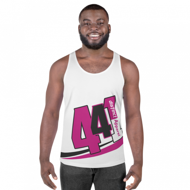 Bermuda 441 -  (White) Tank Top (CUSTOM PRE-ORDER ONLY)