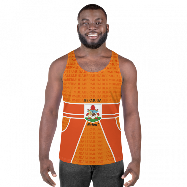 Bermuda LOVE -  (Orange) Tank Top (CUSTOM PRE-ORDER ONLY)
