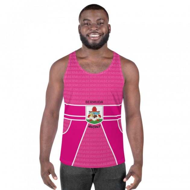 Bermuda LOVE -  (Pink) Tank Top (CUSTOM PRE-ORDER ONLY)