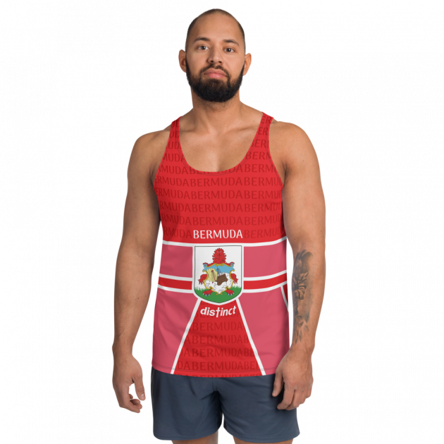 Bermuda LOVE -  (Red) Tank Top (CUSTOM PRE-ORDER ONLY)