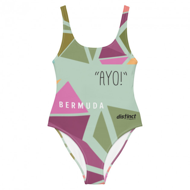 Bermuda Gombey -  (CHOOSE ANY COLOR) Women's  ONE PIECE SWIMWEAR (CUSTOM PRE-ORDER ONLY)