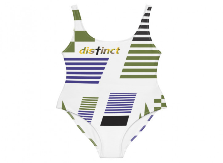 African print - (choose a color) Women's One Piece Swimwear (CUSTOM PRE-ORDER ONLY)