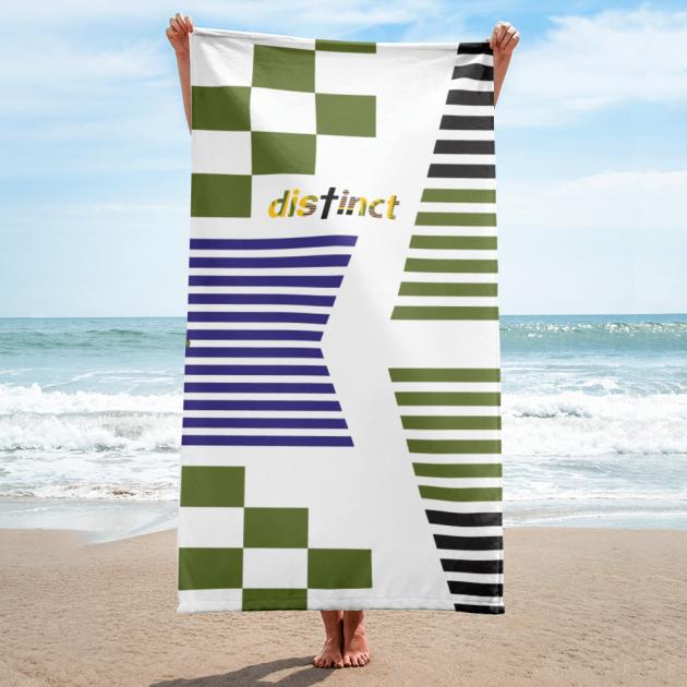 African print - Beach Towel  (CUSTOM PRE-ORDER ONLY)