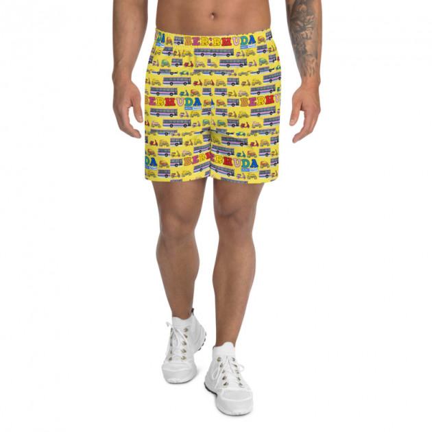 Dahn De Road Transportation - (PICK ANY COLOR) Unisex/Men's  Swimwear (Athletic Shorts) (CUSTOM PRE-ORDER ONLY)