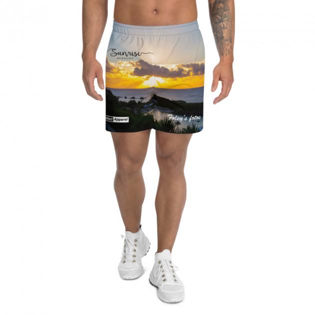 BERMUDA SUNRISE -  Unisex/Men's Swimwear (Athletic Shorts) (CUSTOM PRE-ORDER ONLY)