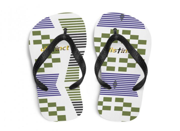 $25 African print- Flip- Flops  (CUSTOM PRE-ORDER ONLY)